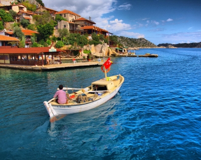 Kekova – Island of Ancient Ruins and Crystal Clear Water, Turkey
