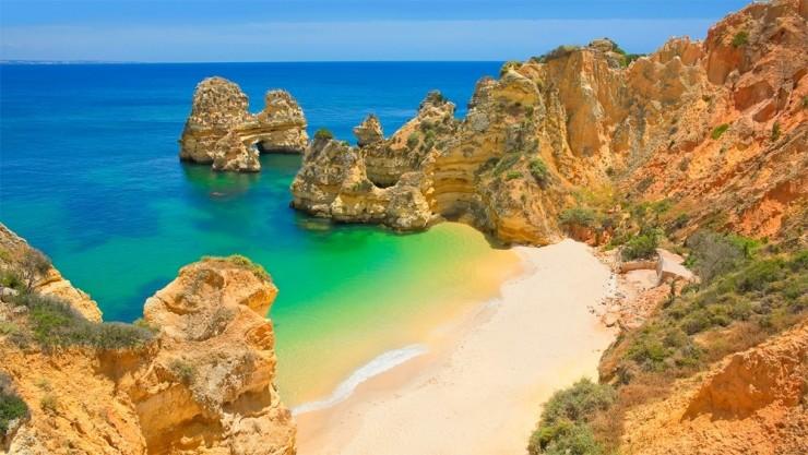 Pristine Beaches and Dramatic Shoreline in Lagos, Portugal