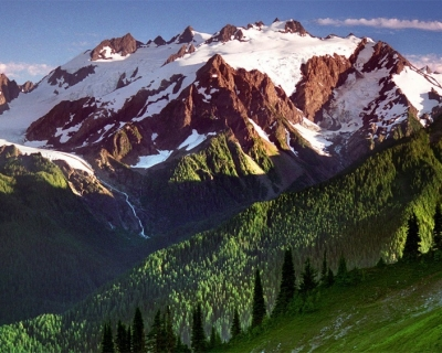 Vast Wilderness in Olympic National Park, Washington, USA