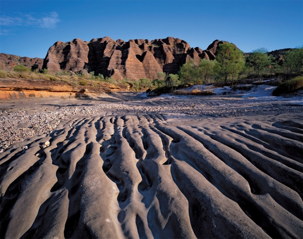 Striking Landscape and Rocky Surface in the Purnululu, Australia