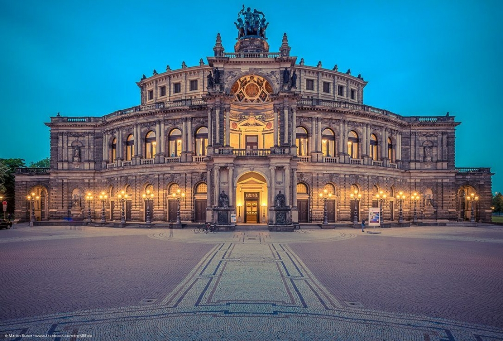 The Semperoper – a Sumptuous Opera House in Dresden, Germany