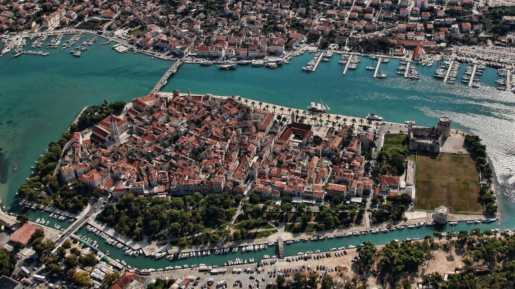 Top Island Cities-Trogir