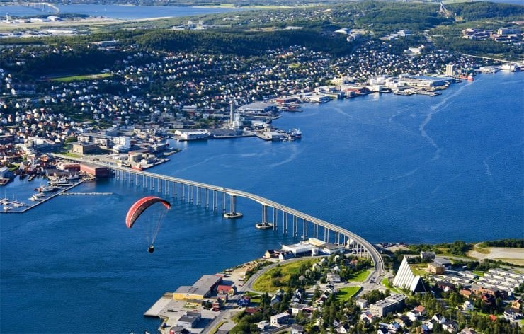 Top Island Cities-Tromso