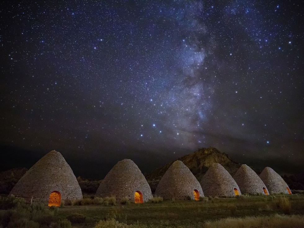 Visit Historic Ward Charcoal Ovens in Nevada, USA