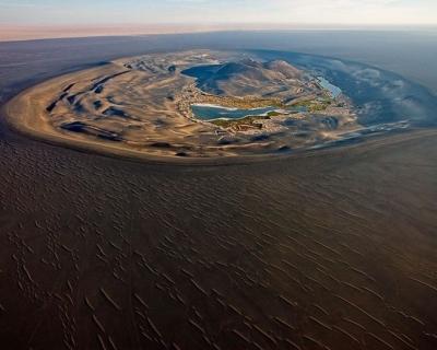 Waw an Namus – an Ethereal Volcanic Oasis in the Sahara, Libya