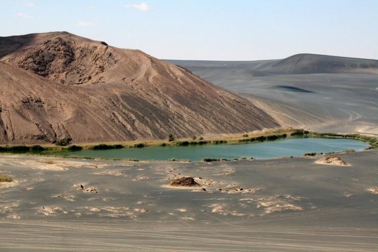 آتشفشان صحرای لیبی