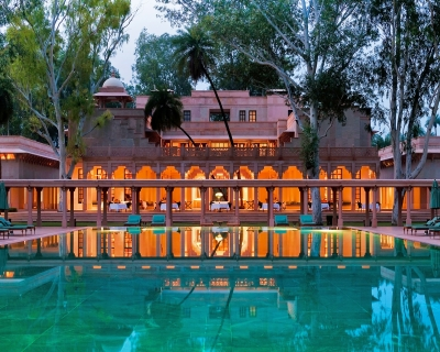Amanbagh – a Luxurious Mogul Style Retreat in India