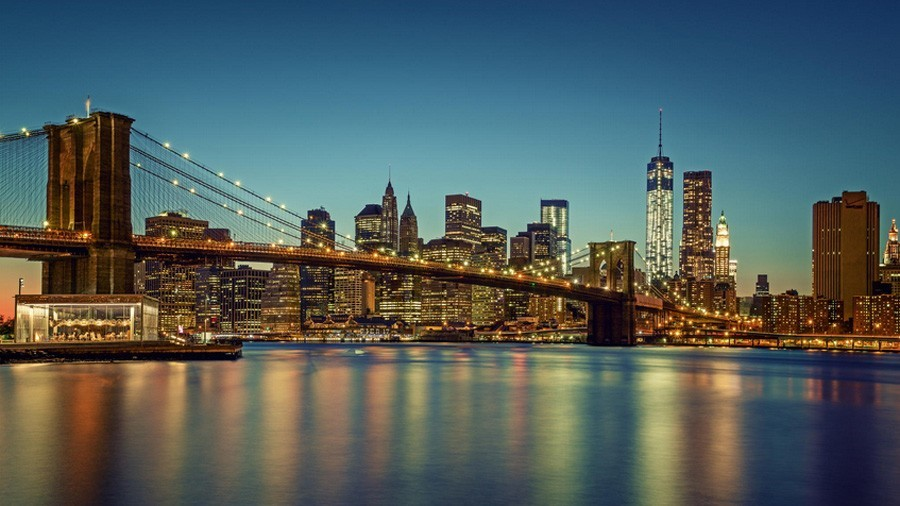 Brooklyn Bridge – the Legendary Symbol of Two Neighborhoods in NYC, USA