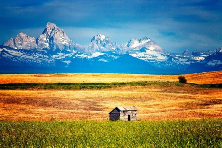 Teton Range-Photo by Kim Kozlowski