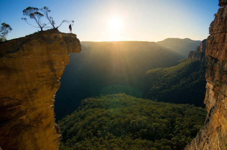 Top Australia-Hanging Rock -Photo by Raf Horemans