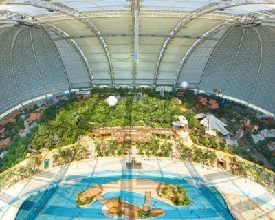 Tropical Islands – a Resort Founded in an Airfield in Germany