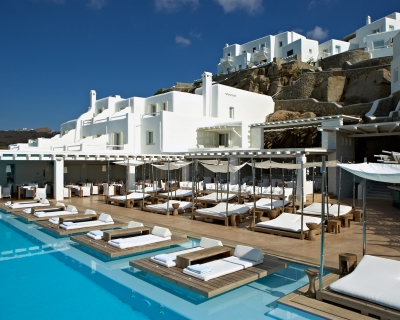 Elegant Summer Vacation in Splendid Cavo Tagoo Resort, Greece
