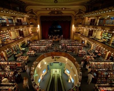 El Ateneo Grand and Splendid Bookstore in Argentina