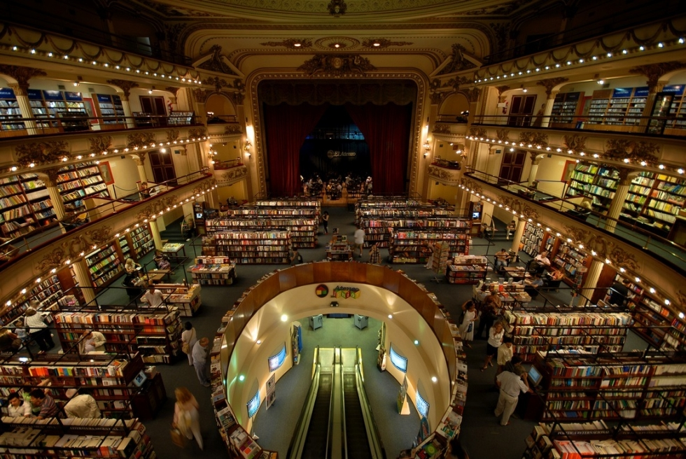 El Ateneo Grand and Splendid Bookstore in Argentina
