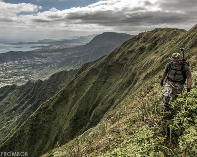 Thrilling Hiking Trip on Koolau Summit Trail, Hawaii
