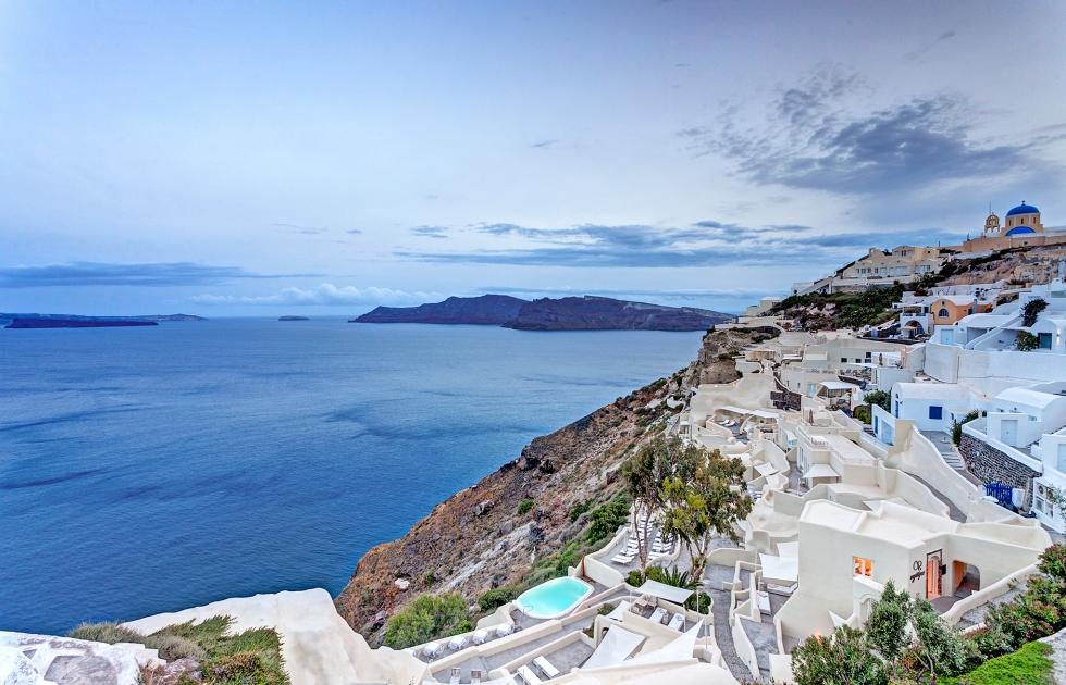 Mystique – a Tranquil Resort in Beautiful Santorini, Greece