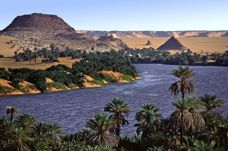 Lakes of Ounianga – Oasis in the Arid Sahara Desert, Chad