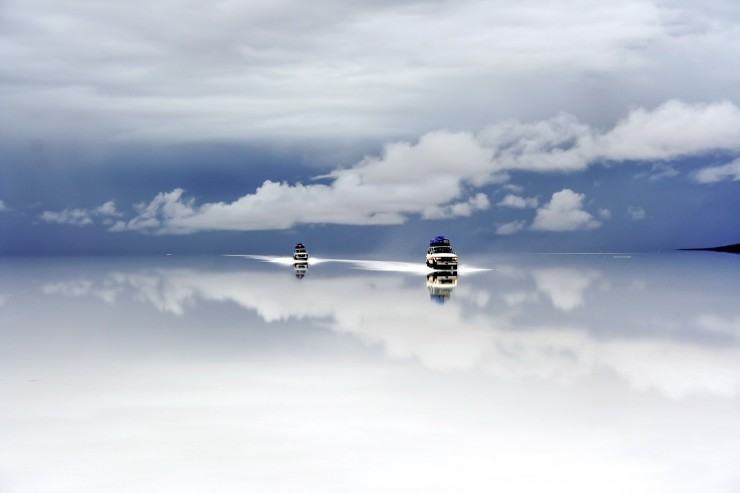 Salar de Uyuni after the rain
