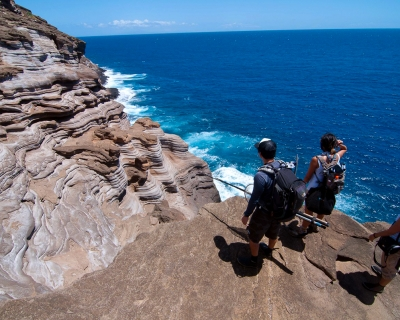 Spitting Caves – a Little Known Great Site in Hawaii
