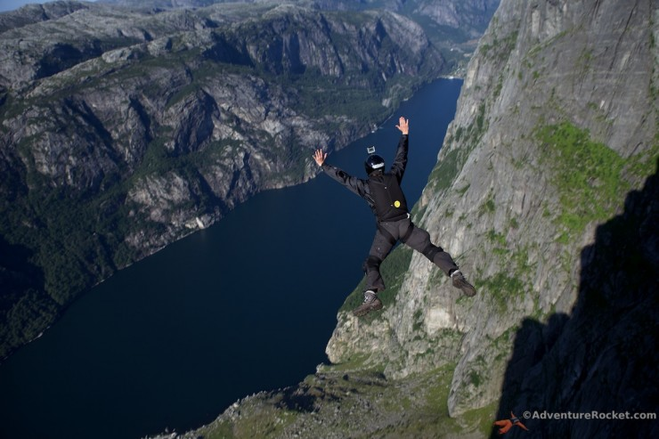Top 10 Base Jump-Kjerag-Photo by Adventure Rocket