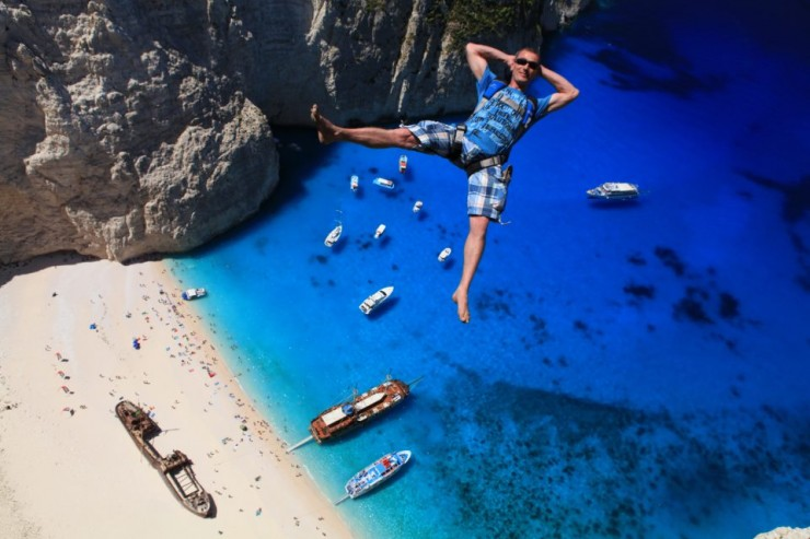 Top 10 Base Jump-Navagio