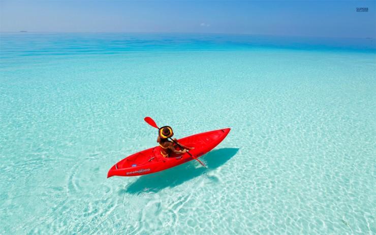 Top 10 Kayaking-Maldives