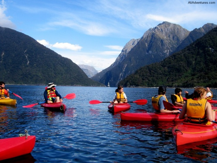Top 10 Kayaking-Milford-Photo by Ali Adventures
