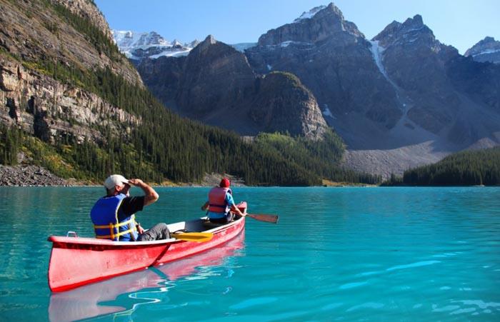 Top 10 Kayaking-Moraine-Photo by Dan Hudson