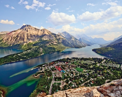 Waterton Lake – a Natural Wonder Embedded in the Mountains, Canada