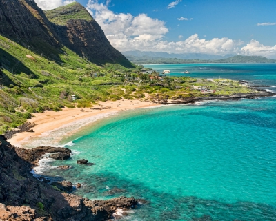 Hit the Waves in the Pristine Makapu'u Beach Park in Hawaii