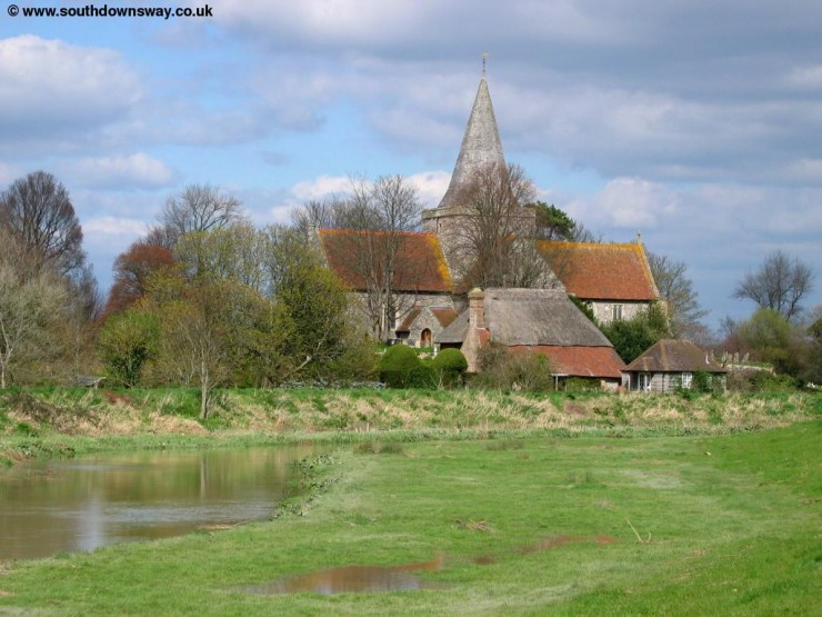 Top 10 British Villages-Alfriston-Photo by The South Downs Way