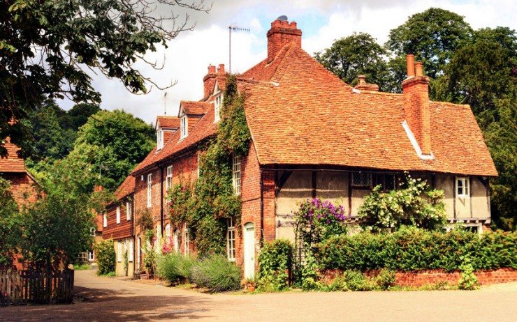 Top 10 English Villages-Hambleden