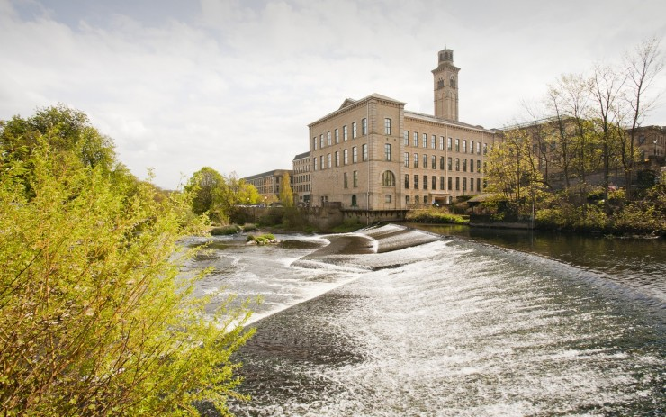 Top 10 English Villages-Saltaire