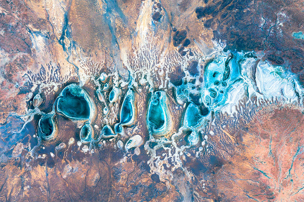 Top 10 Google Earth Images From The Earth