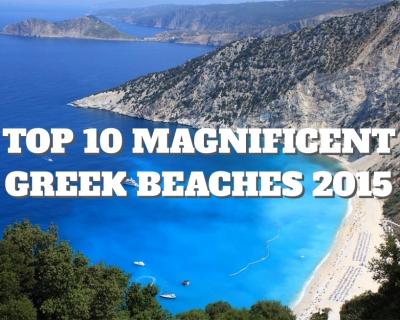 Top 10 Magnificent Greek Beaches 2015