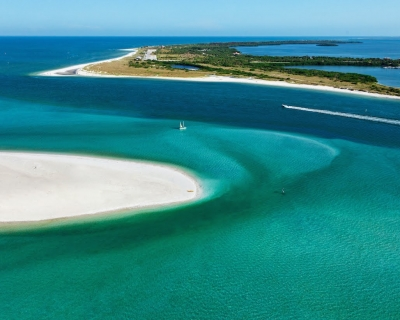 Pristine Honeymoon and Caladesi Islands in Florida, USA