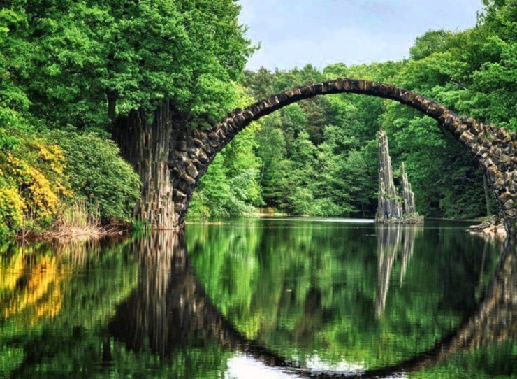 Top 10 German-Rakotzbrücke