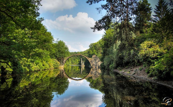 Top 10 German-Rakotzbrücke-Photo by Christoph Perret