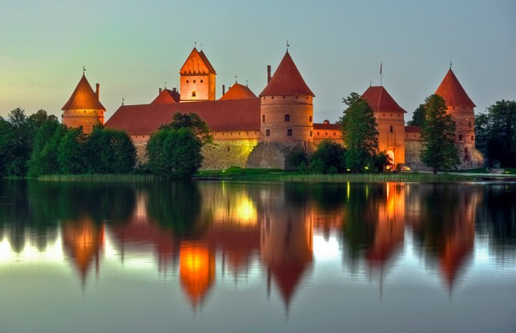 Top Ancient Towns-Trakai