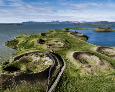 Top 10 Unearthly Places in Iceland from Above
