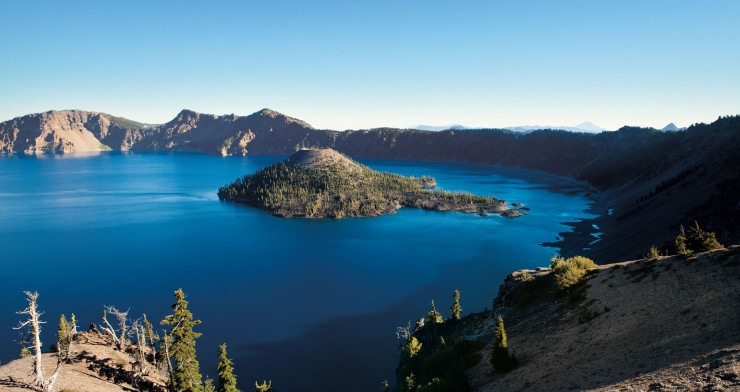 Top American Lakes-Crater