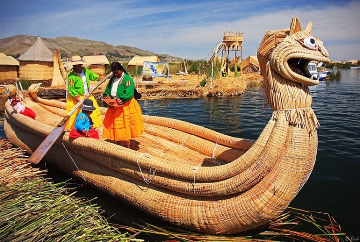 Top South America-Titicaca