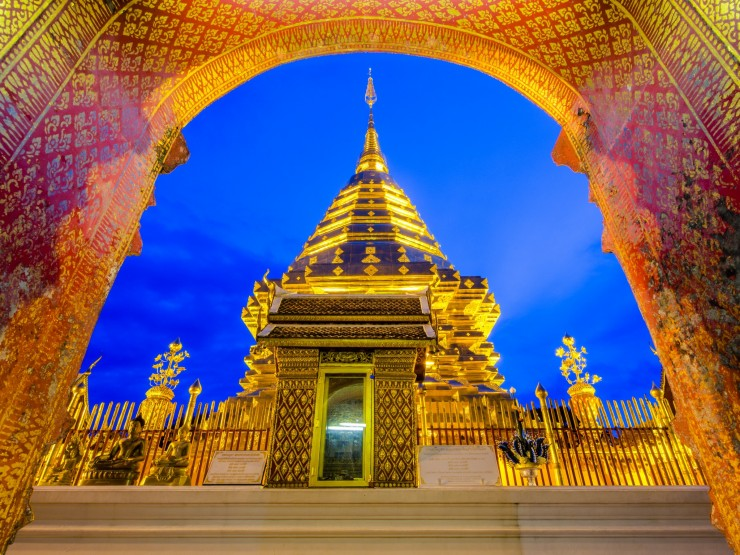 Wat Phra That Doi Suthep by Pongpinun Traisrisilp