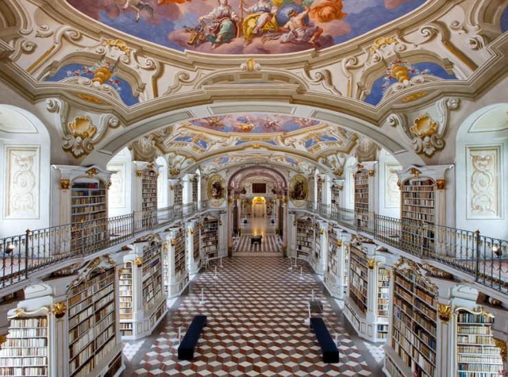 کتابخانه Admont Abbey