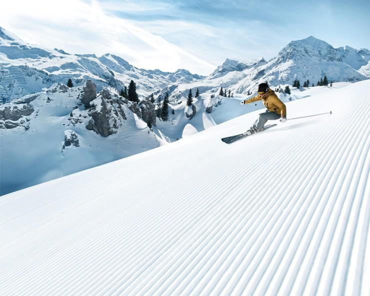 استراحتگاه های اسکی محبوب اتریش