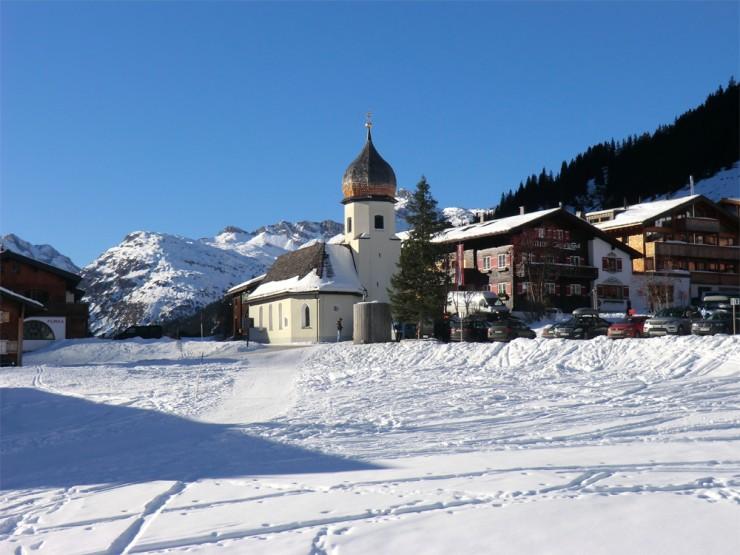 آرلبرگ استراحتگاه های اسکی محبوب