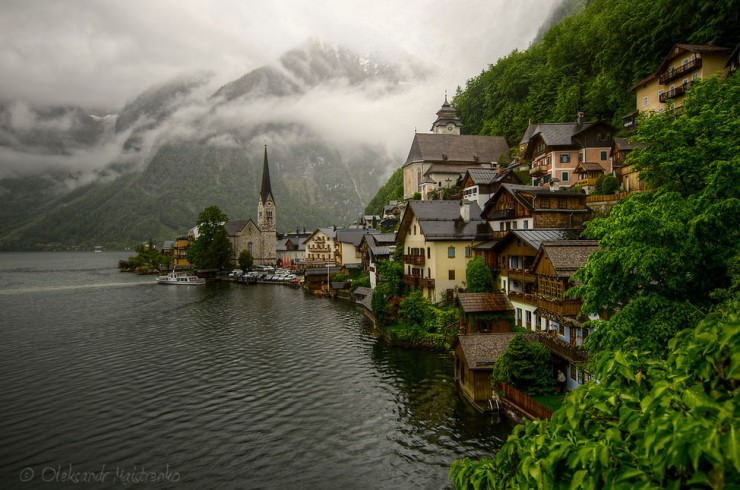 Hallstatt-Photo by Oleksandr Maistrenko
