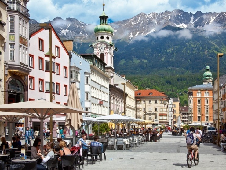 Innsbruck جاذبه های اتریش