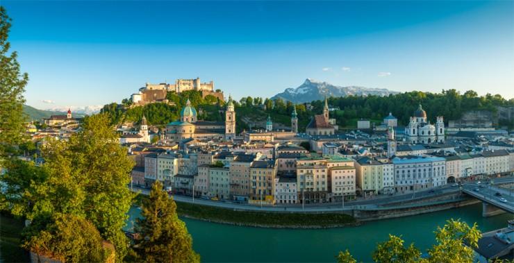 سالزبورگ جاذبه های اتریش