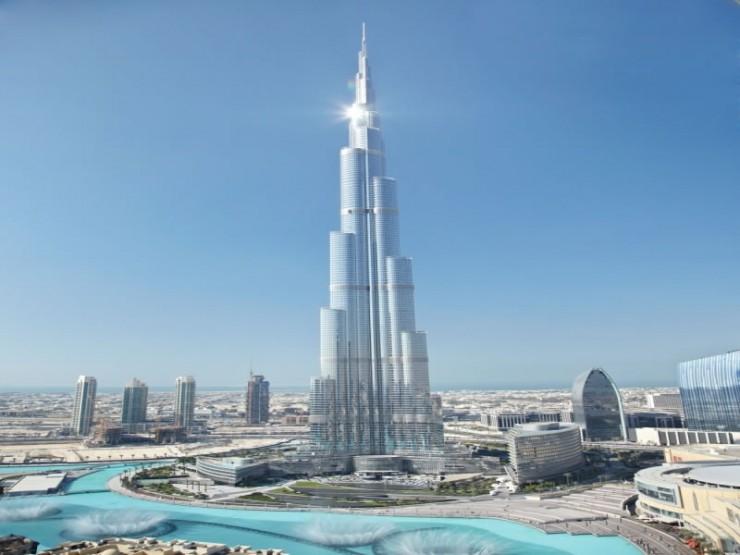 برج خلیفه، دبی، امارات متحده عربی